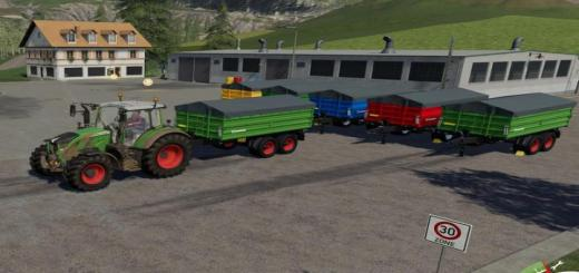 Photo of FS19 – Farmtech Tdk1600 Mc Trailer V1