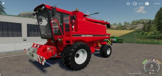 Photo of FS19 – [Fbm Team] Case Ih 1660 (1680) With Cutter V1