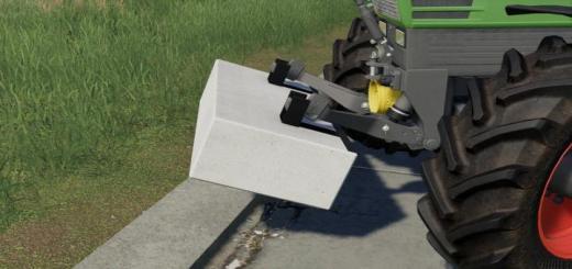 Photo of FS19 – [Fbm Team] Concrete Weight V1