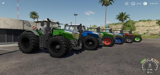 Photo of FS19 – Fendt 1000 Vario Tractor V1.0.0.5
