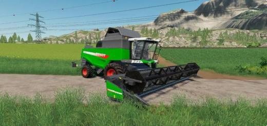 Photo of FS19 – Fendt 6275 L Harvester V1