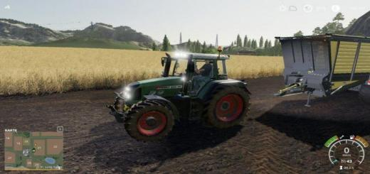 Photo of FS19 – Fendt 800 Tms Tractor