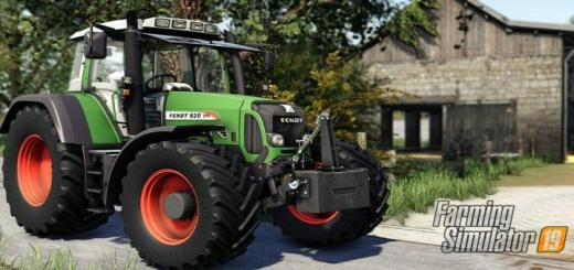 Photo of FS19 – Fendt 800 Vario Tms Tractor V1