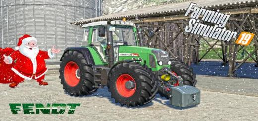 Photo of FS19 – Fendt 800 Vario Tms V1.1