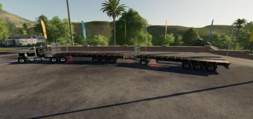 Photo of FS19 – Fliegl Flatbed V1.1