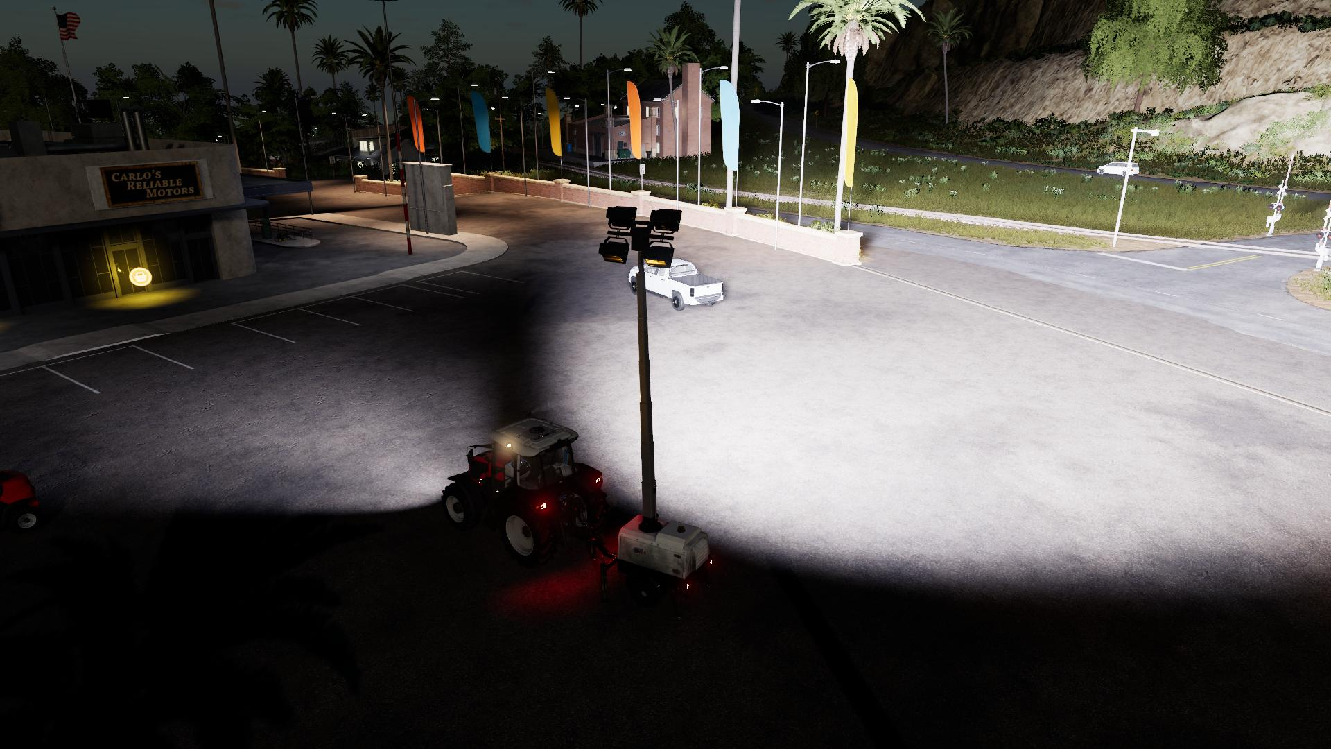 Photo of FS19 Lizard Floodlight Trailer V1.1 Edit by Deltabravo Productions