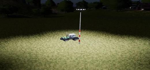 Photo of FS19 – Floodlight V1.2