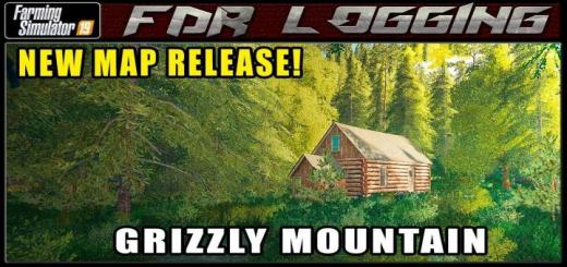 Photo of FS19 – Grizzly Mountain Logging Map V1