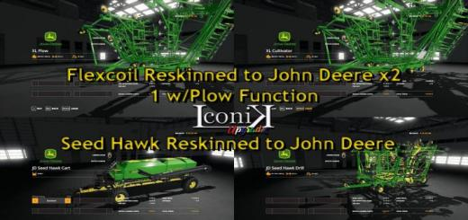 Photo of FS19 – Iconik Jd Xl Pack V1