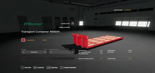 Photo of FS19 – Itr Transport Container Multicolor V1