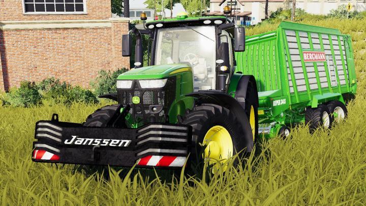 FS19 - Janssen 1600Kg Weight V1