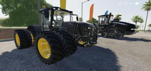 Photo of FS19 – Jcb Fastrac 4220 Tractor