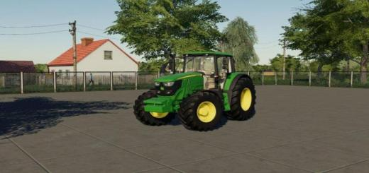 Photo of FS19 – John Deere 6M Tractor V1