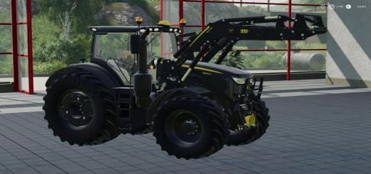 Photo of FS19 – John Deere 6R Black Edition V1.0.1