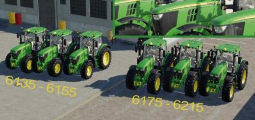 Photo of FS19 – John Deere 6R Series Pack V0.1