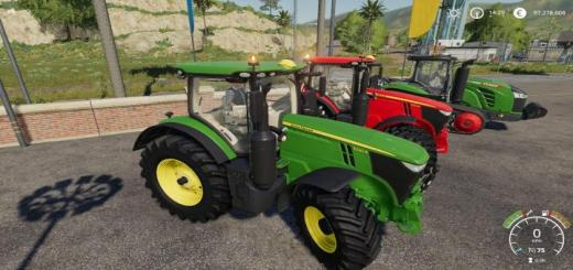 Photo of FS19 – John Deere 7R Series