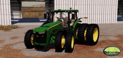 Photo of FS19 – John Deere 8R 2018 Usa Tractor V2