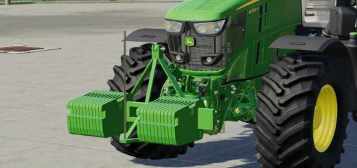 Photo of FS19 – John Deere Double Weight V1