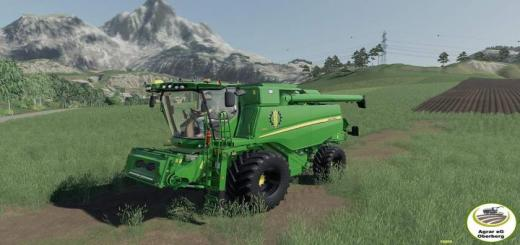 Photo of FS19 – John Deere T560 Harvester V1