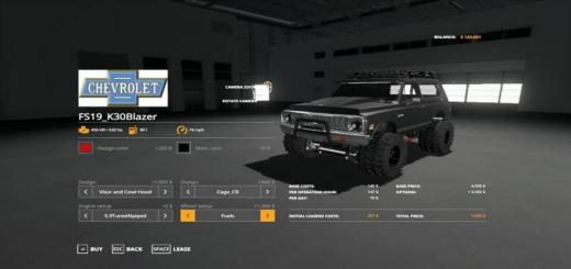 Photo of FS19 – K30Blazer V1