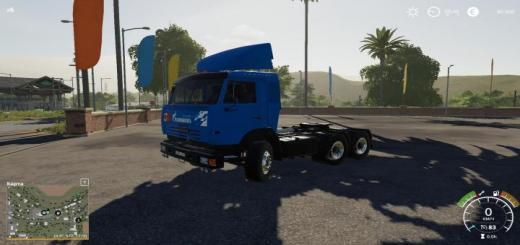Photo of FS19 – Kamaz 54115 Truck V1