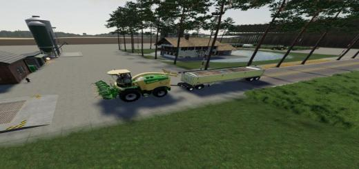 Photo of FS19 – Krone X-Collect 900-3 Poplar V1.0.1