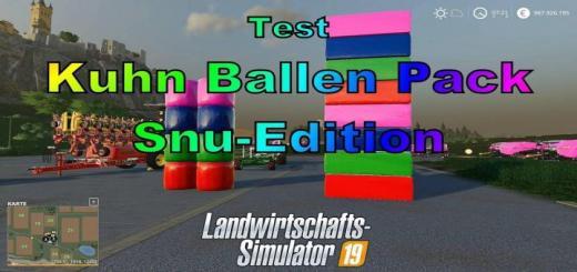 Photo of FS19 – Kuhn Bale Pack Snu Edition V1