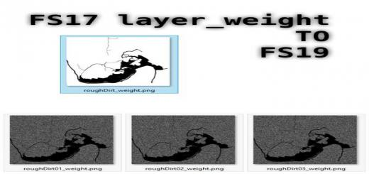 Photo of FS19 – Layer Weight Converter V1