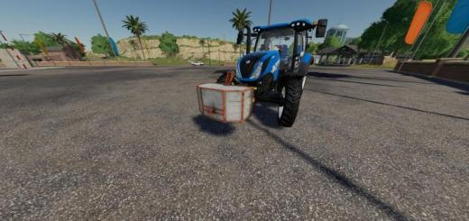 Photo of FS19 – Lizard Self Made 800Kg Weigh V1