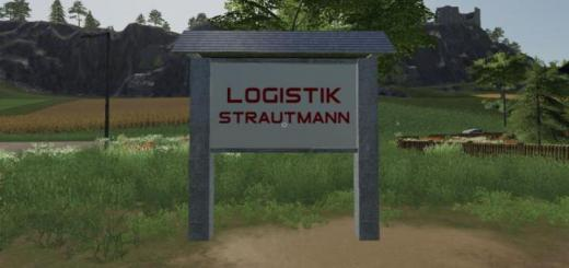 Photo of FS19 – Logistics Strautmann – Company Shield V1