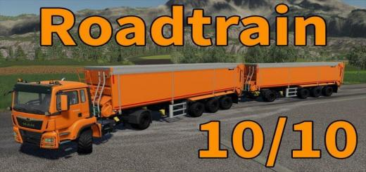 Photo of FS19 – Man + Krampe Trailer With Trailer Coupling V1.1