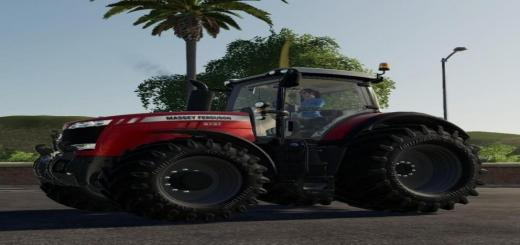Photo of FS19 – Massey Ferguson 8700 Fix By Alex Blue V1.0.0.5
