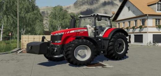Photo of FS19 – Massey Ferguson 8700 Tractor