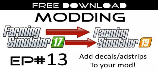 Photo of FS19 – Modding Ep #13 – Add Decals To Your Mod V1