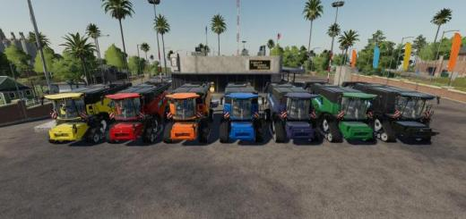 Photo of FS19 – New Holland Cr10.90 Pack By Gamling V1