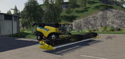 Photo of FS19 – New Holland Cr1090 Harvester V1.0.2