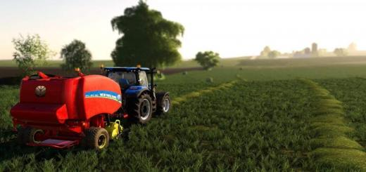 Photo of FS19 – New Holland Rollbelt 460 V1