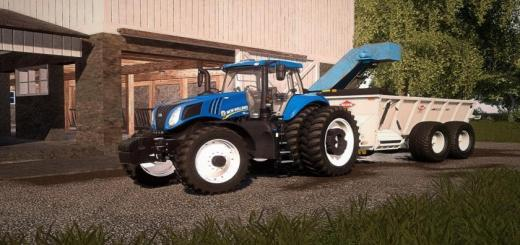 Photo of FS19 – New Holland T8 American Tractor V1