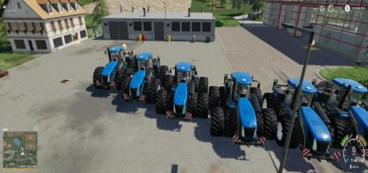 Photo of FS19 – New Holland T9.700 Tractor V1.2