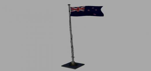 Photo of FS19 – New Zealand Flagpole V1