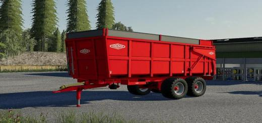 Photo of FS19 – Orenge Orm 160 (16T) V1