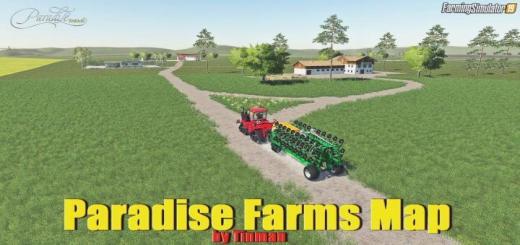 Photo of FS19 – Paradise Farms Map V1.0.0.3