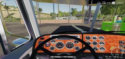 Photo of FS19 – Peterbilt 379 Truck V1.1