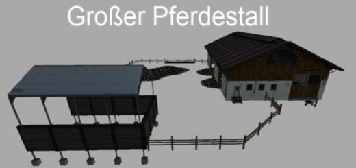 Photo of FS19 – Pferdestall V1.1