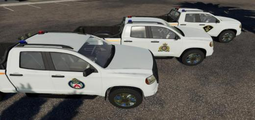 Photo of FS19 – Pickup 2014 Police Edition