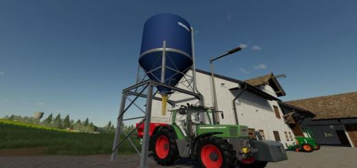 Photo of FS19 – Placable Fertilizer Silo V1