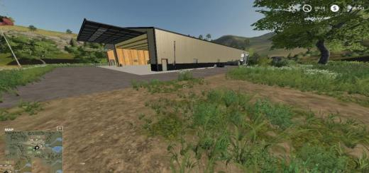 Photo of FS19 – Placeable Animated Machine Shop With Refuel Point V1