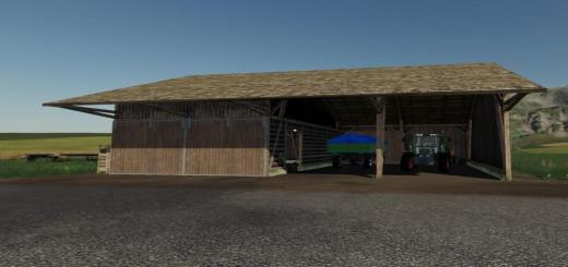 Photo of FS19 – Placeable Barn V1