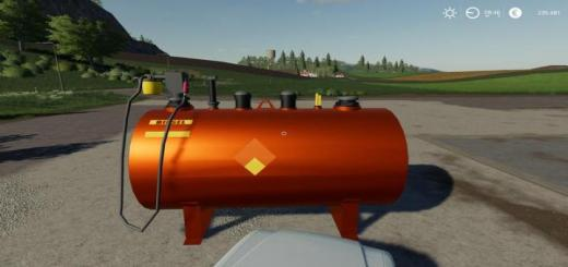 Photo of FS19 – Placeable Diesel Tank V2.0.1.9