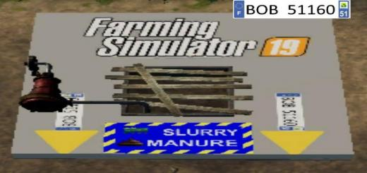 Photo of FS19 – Placeable Manure V1.5